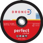 DRONCO 'Perfect' Metal Grinding Discs - Depressed Centre
